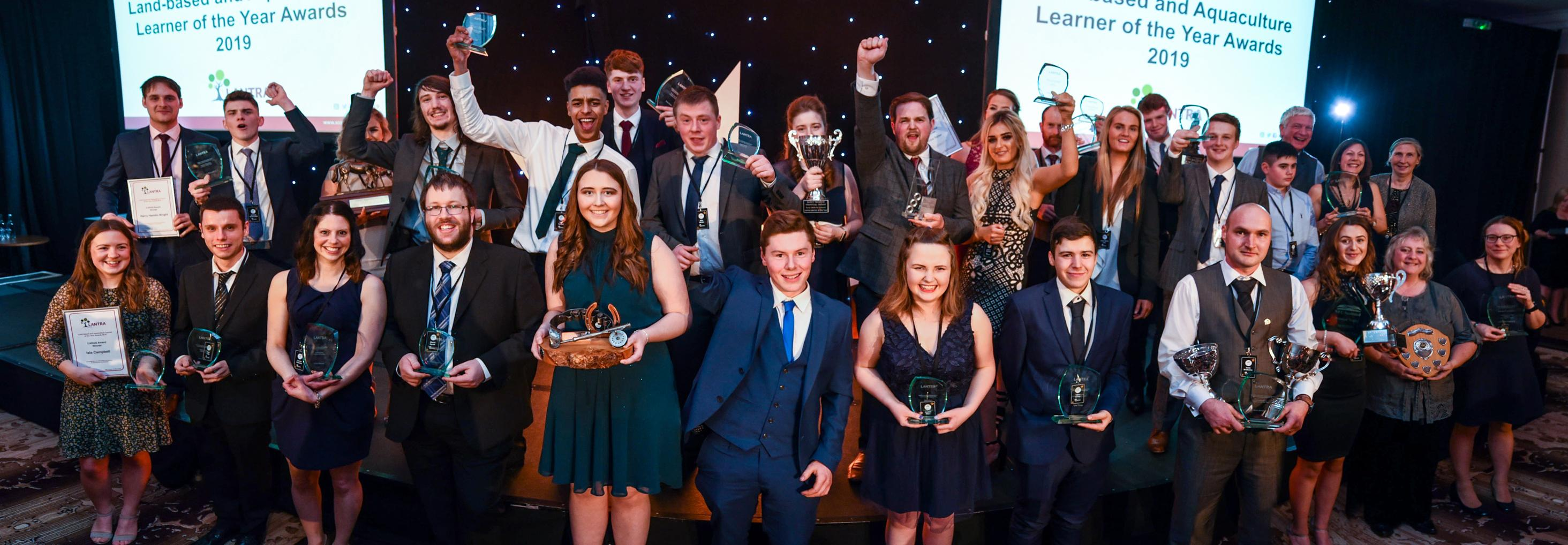 Winners celebrated at Lantra Scotland's Learner of the Year Awards