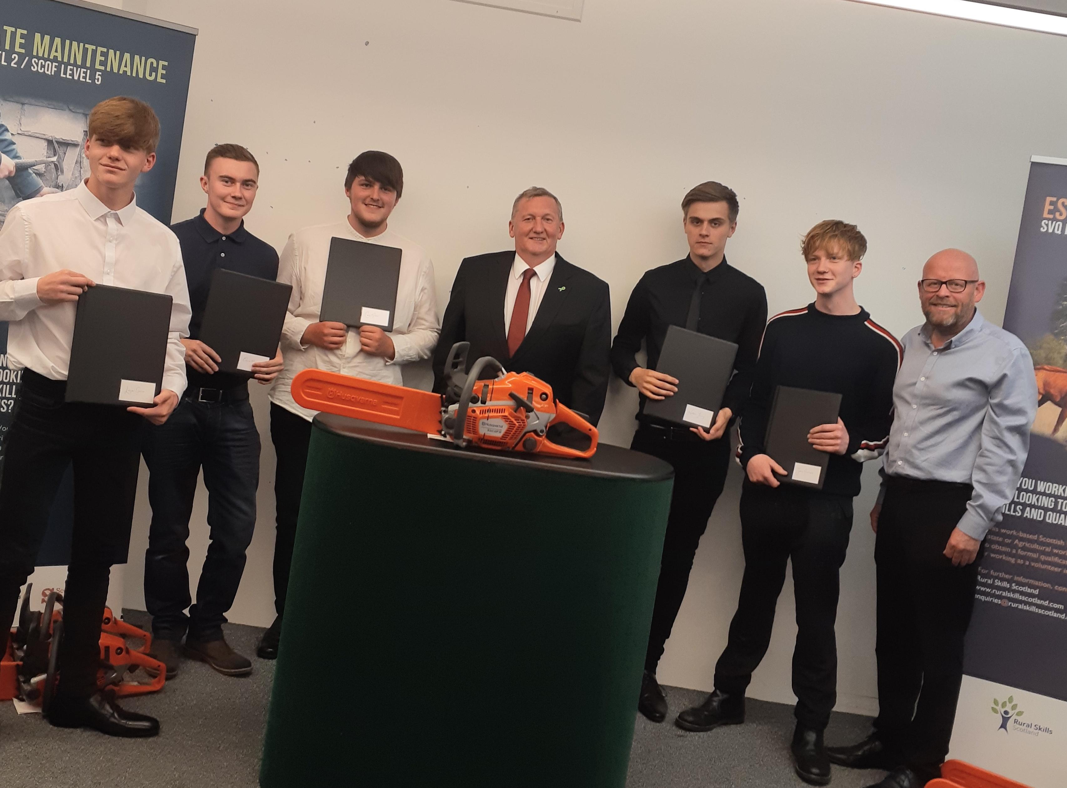 Success for Fife forestry apprentices