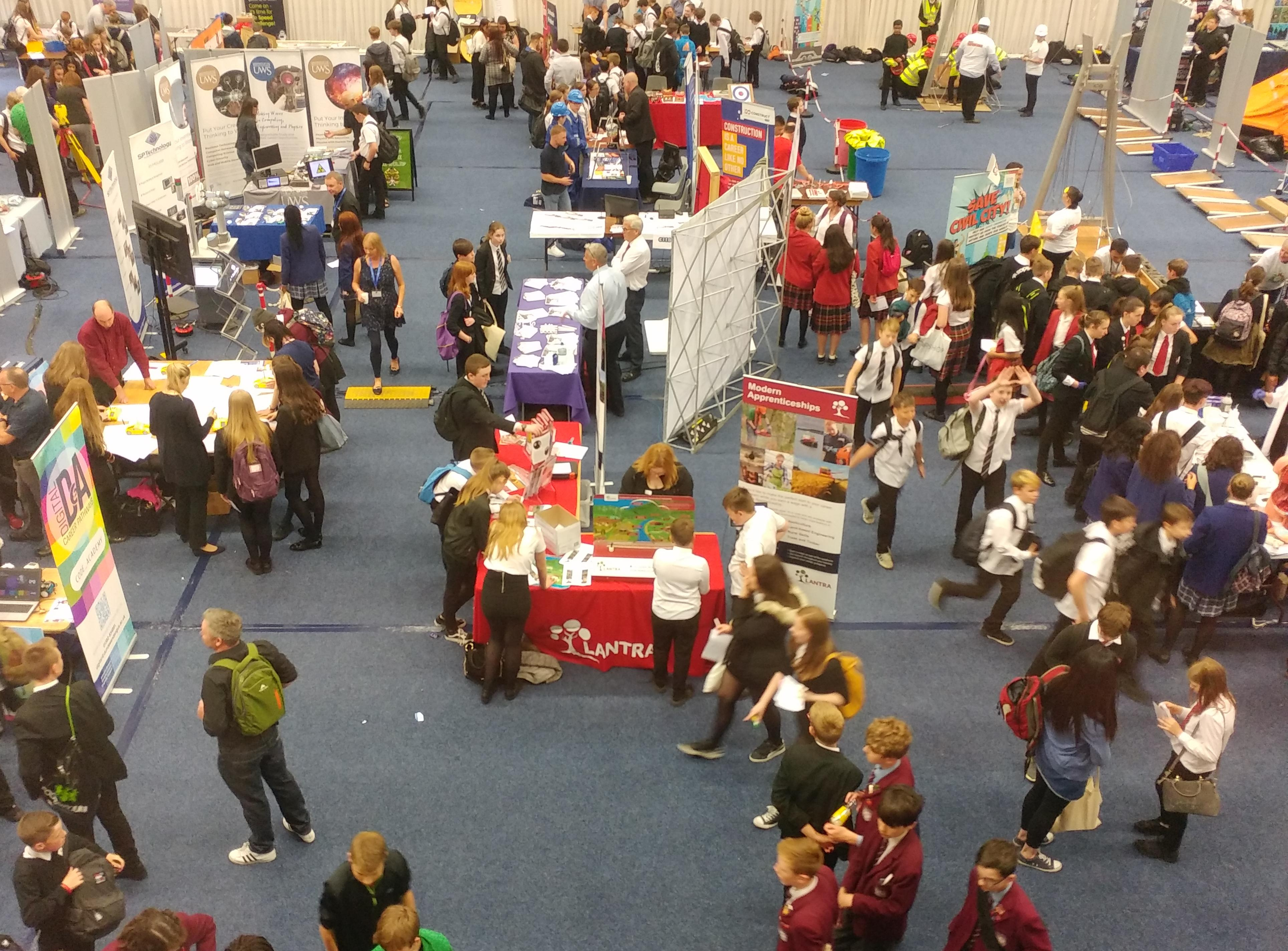 Big Bang event at Perth College UHI for STEM careers
