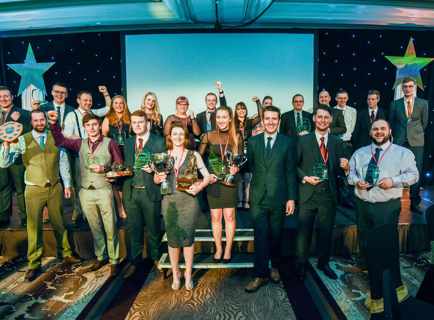 Learner of the year winners from 2018