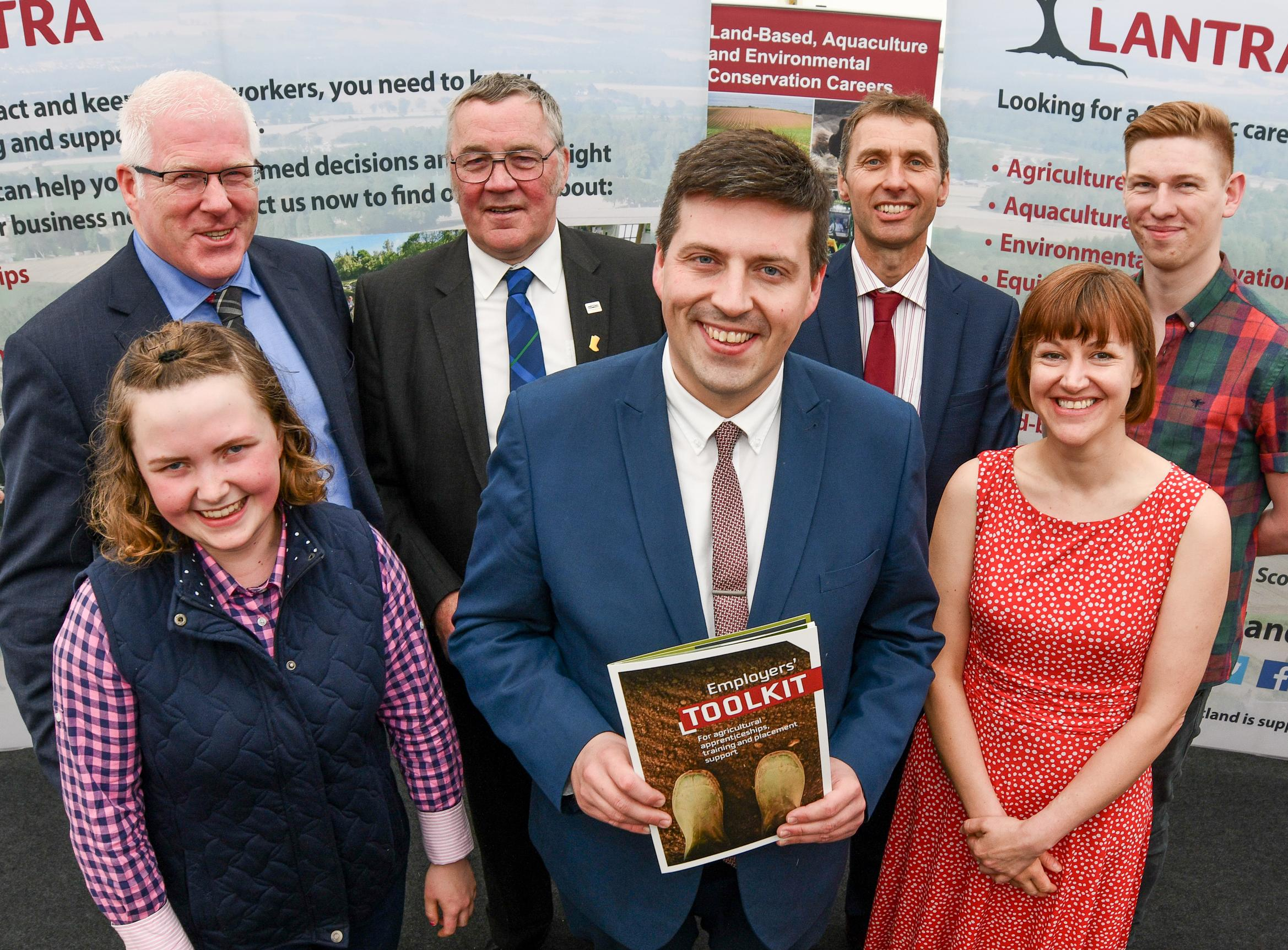 Speakers and apprentices at employers' toolkit launch