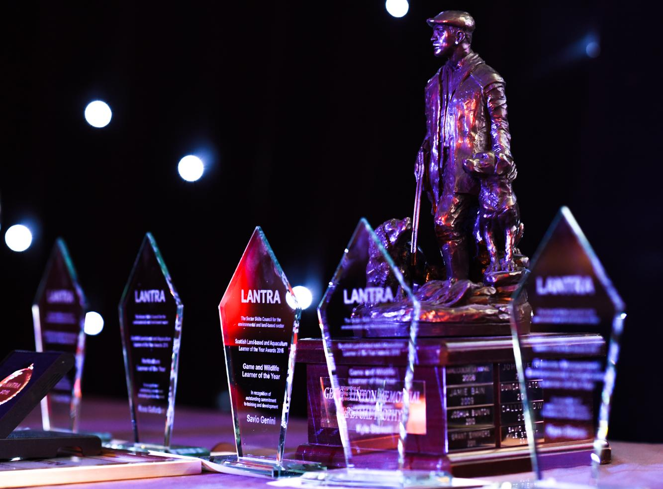 Trophies for Lantra's ALBAS