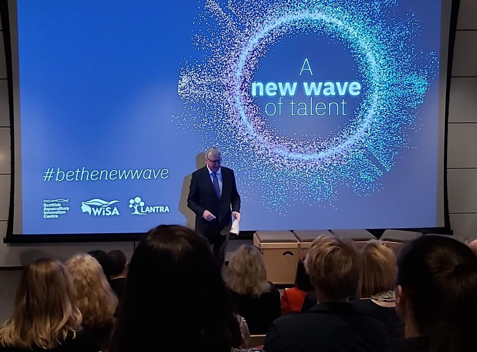 Fergus Ewing MSP launches new wave of talent videos